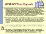 gcse ict task england