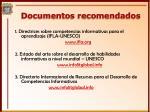documentos recomendados