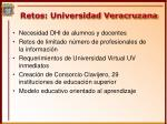 retos universidad veracruzana