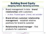 building brand equity designing holistic marketing activities2