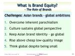 challenges asian brands global ambitions