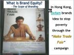what is brand equity the scope of branding1