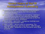 general history of past in antidegradation rulemaking1