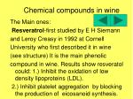chemical compounds in wine