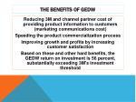the benefits of gedw1