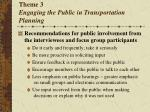 theme 3 engaging the public in transportation planning2