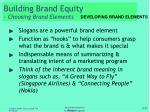 building brand equity choosing brand elements6