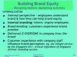 building brand equity designing holistic marketing activites2
