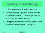 devising a brand strategy1