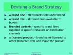 devising a brand strategy2