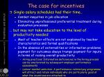 the case for incentives2