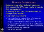 the case for incentives3