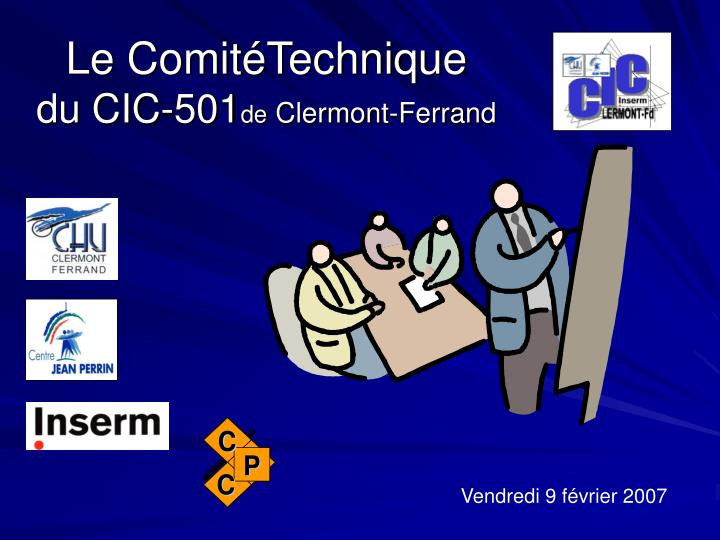 le comit technique du cic 501 de clermont ferrand n.