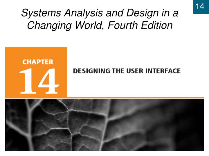 systems analysis and design in a changing world fourth edition n.
