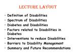 lecture layout