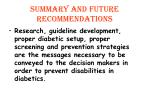 summary and future recommendations2