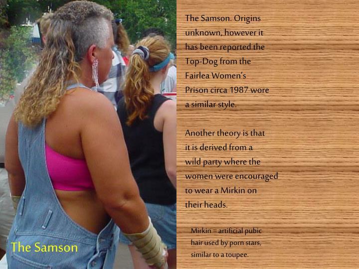 The Samson. Origins