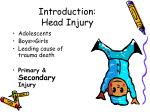 introduction head injury