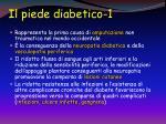il piede diabetico 1