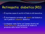 retinopatia diabetica rd1