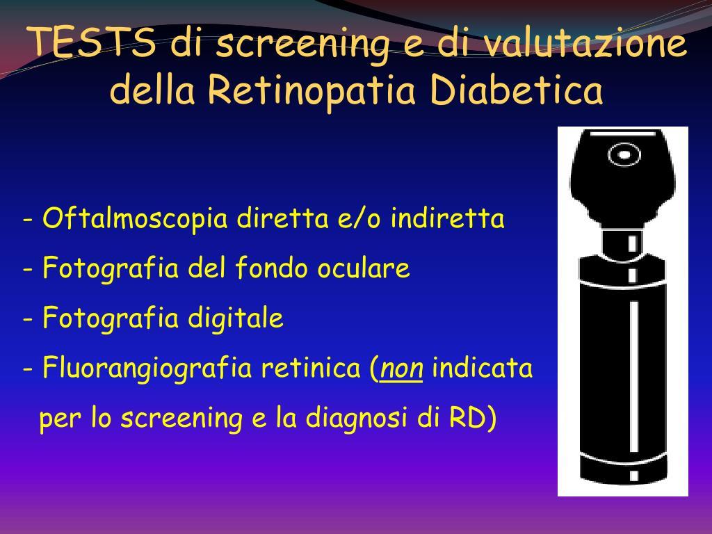 PPT - IL DIABETE MELLITO E LE SUE COMPLICANZE PowerPoint..