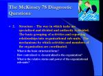 the mckinsey 7s diagnostic questions1