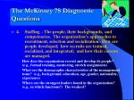 the mckinsey 7s diagnostic questions3