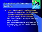 the mckinsey 7s diagnostic questions4