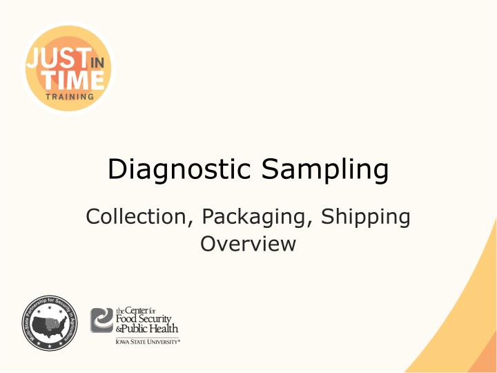 diagnostic sampling n.