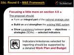 2 b round 6 m e framework