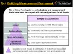 2 c building measurement framework