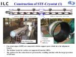 construction of stf cryostat 1