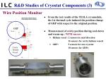 r d studies of cryostat components 3