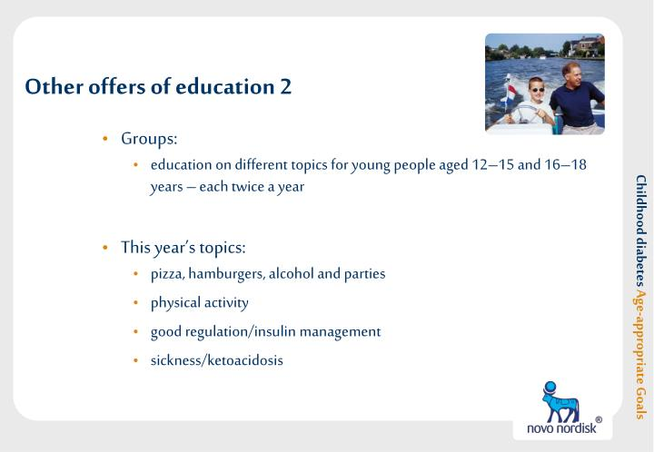 Other offers of education 2