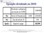 ejemplo dividendo en 2010