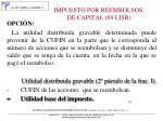 impuesto por reembolsos de capital 89 lisr1