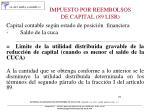 impuesto por reembolsos de capital 89 lisr5