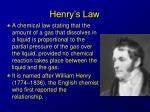 henry s law