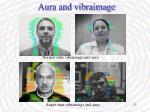 aura and vibraimage