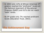 the achievement gap1