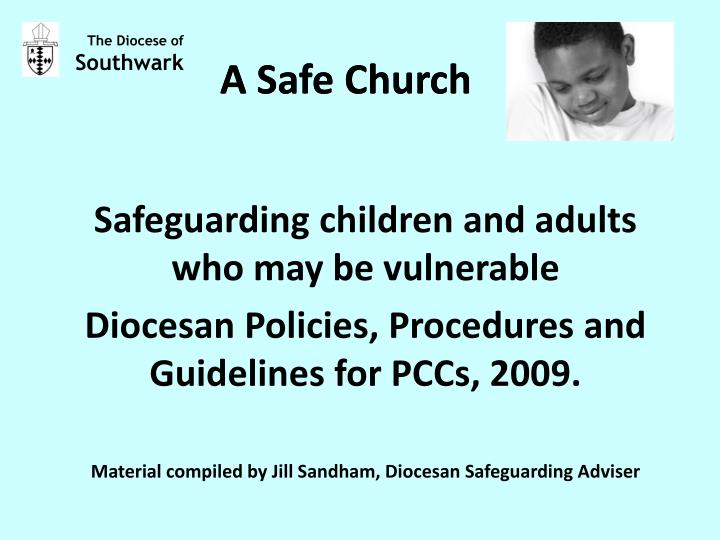 a safe church n.