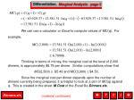 differentiation marginal