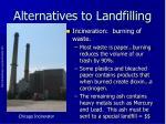 alternatives to landfilling1