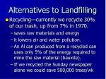 alternatives to landfilling2