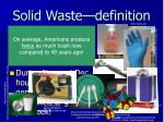 solid waste definition1