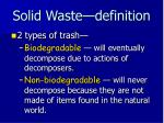 solid waste definition2