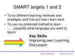 smart targets 1 and 2