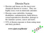 dioxin facts