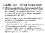 landfill gas proper management1