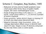 scheme c congdon reg studies 1995